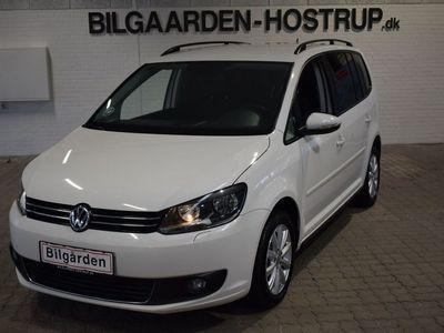 brugt VW Touran 2,0 TDi 140 Comfortline DSG BM Van