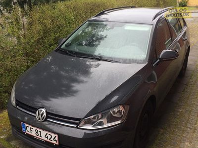 brugt VW Golf VII variant
