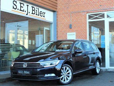 brugt VW Passat Variant 2,0 TDI BMT Highline 150HK Stc 6g A+
