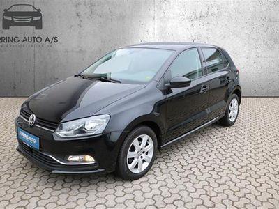 brugt VW Polo 1,4 TDI BMT Comfortline 90HK 5d - Personbil - sortmetal