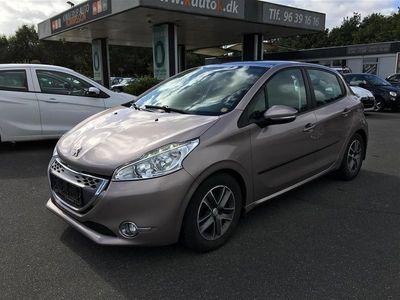 brugt Peugeot 208 1,4 e-HDi Active ESG 68HK 5d Aut.