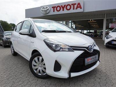 brugt Toyota Yaris Hybrid 1,5 B/EL Hybrid 100HK 5d