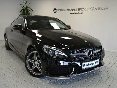used Mercedes C220 d 2,2 AMG Line Coupé aut.