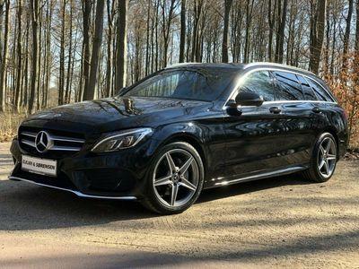 gebraucht Mercedes C180 1,6 AMG Line stc. aut.