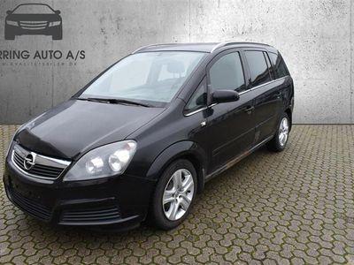 brugt Opel Zafira 1,9 CDTI 120HK - Varebil - sort