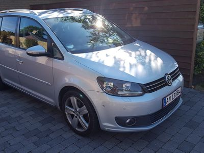 used VW Touran 1.4 140 HK Highline DSG 7 pers