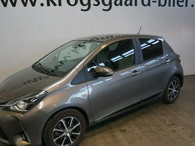 brugt Toyota Yaris 15 Hybrid H3 Smartpakke E-CVT 100HK 5d Trinl. Gear