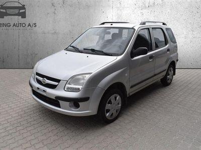 brugt Suzuki Ignis 1,3 GL 94HK 5d - Personbil - sølvmetal