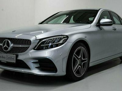 brugt Mercedes C300 d AMG Line aut. 2019