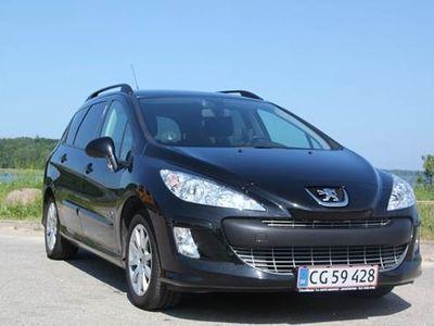 brugt Peugeot 308 1,6 1,6 HDI 92 HK ST.CAR