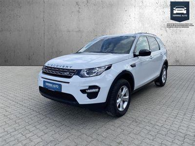 brugt Land Rover Discovery Sport 2,0 TD4 SE Business 4x4 150HK 5d 6g - Personbil - Hvid