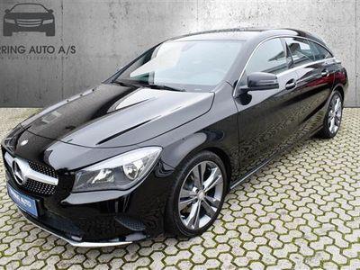 brugt Mercedes CLA200 Shooting Brake 2,1 CDI 7G-DCT 136HK Stc 7g Aut. - Personbil - sort