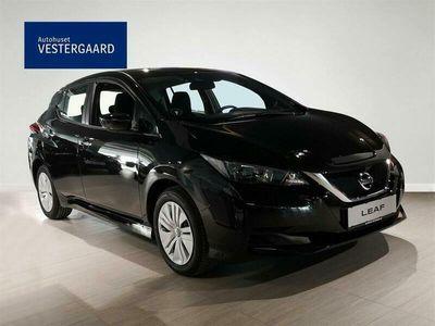 brugt Nissan Leaf EL Visia 40 kWh 150HK 5d Aut.