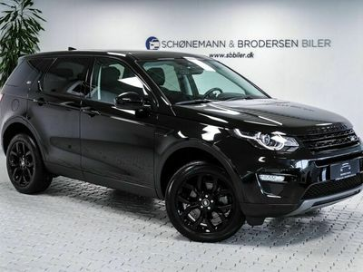brugt Land Rover Discovery Sport 2,0 TD4 180 HSE Luxury aut.
