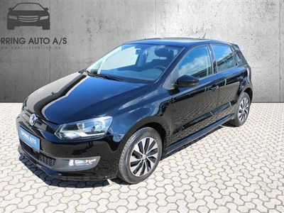 gebraucht VW Polo 1,0 Bluemotion BlueMotion DSG 95HK 5d 7g Aut. - Personbil - sort