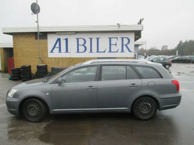 brugt Toyota Avensis 2,0 Sol stc.