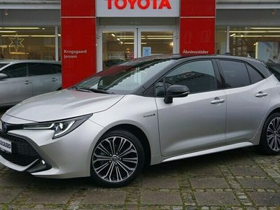 brugt Toyota Corolla 1,8 B/EL H3 Premiumpakke E-CVT 122HK 5d Trinl. Gear