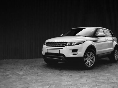 brugt Land Rover Range Rover evoque 2,0 eD4 Pure 150HK 5d 6g - Personbil - Hvid