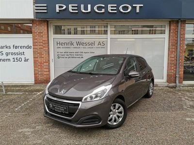 brugt Peugeot 208 1,2 PureTech Envy 82HK 5d A+