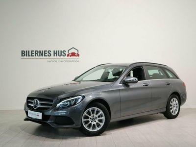 gebraucht Mercedes C220 d 2,2 Business stc. aut.