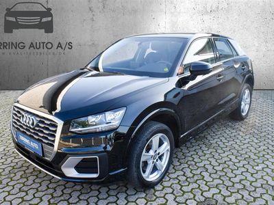 brugt Audi Q2 1,6 TDI Sport 116HK 5d 6g - Personbil - sort