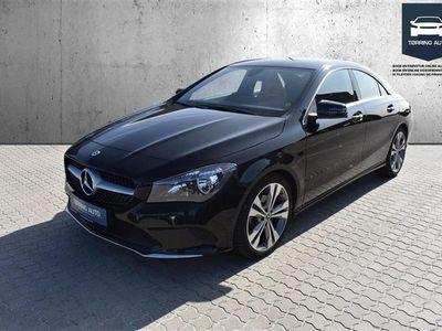brugt Mercedes CLA200 1,6 7G-DCT 156HK 4d 7g Aut. - Personbil - Sort