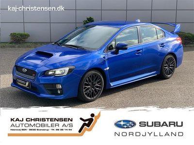 brugt Subaru WRX STI 2,5 Turbo Hækspoiler AWD 300HK 6g