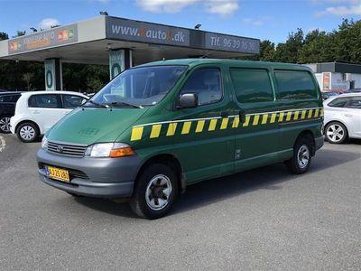 brugt Toyota HiAce Lang 2,5 D-4D 4x4 102HK Van
