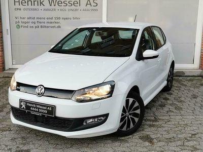 brugt VW Polo 1,0 BlueMotion 95HK 5d A+