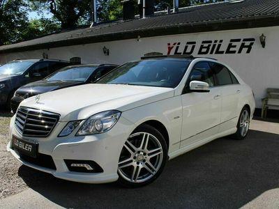 brugt Mercedes E350 0 CDi AMG Line aut.