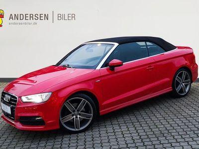 brugt Audi A3 Cabriolet 1,8 TFSI Ambiente Quat S Tron 180HK 6g Aut.