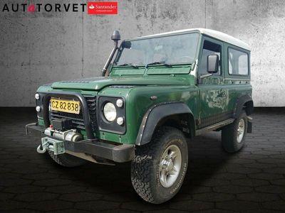 brugt Land Rover Defender 90 2,5 Tdi Hard-top