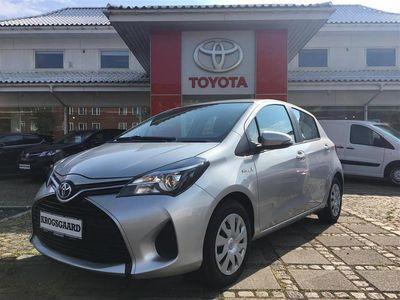 used Toyota Yaris Hybrid 1,5 B/EL E-CVT 100HK 5d Trinl. Gear