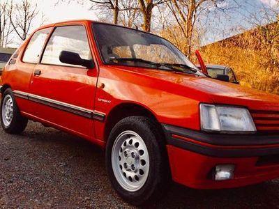 brugt Peugeot 205 1,6 Sprint