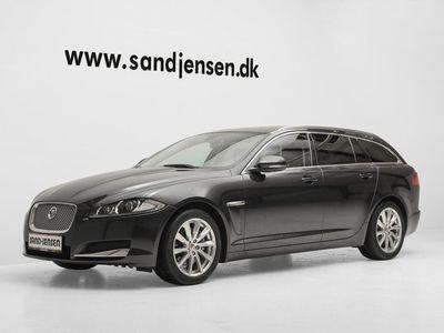 brugt Jaguar XF 3,0 D V6 Luxury SB aut. Van