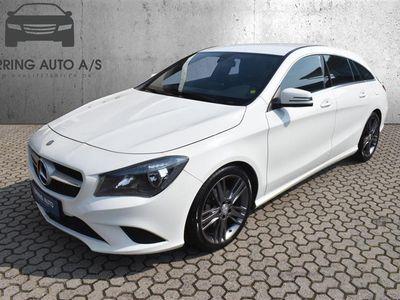 brugt Mercedes CLA200 Shooting Brake 2,1 CDI 136HK Stc 6g - Personbil - hvid