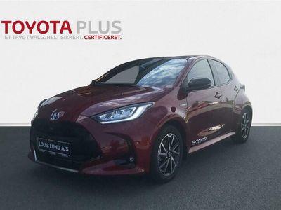 brugt Toyota Yaris 1,5 Hybrid H3 Style 116HK 5d Trinl. Gear A+++