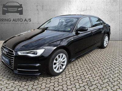 brugt Audi A6 3,0 TDI S Tronic 218HK 7g Aut. - Personbil - sort