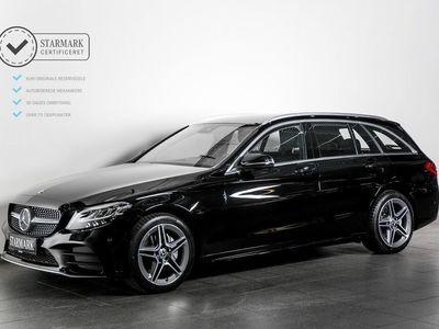 brugt Mercedes C200 1,5 AMG Line stc. aut.