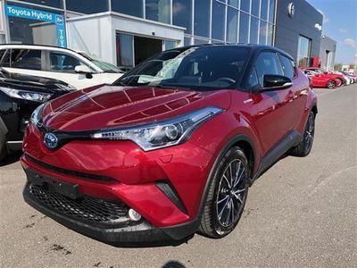 brugt Toyota C-HR 1,8 B/EL Selected Bi-tone Multidrive S 122HK 5d Aut.