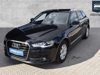 brugt Audi A6 Avant 2,0 TDI 177HK Stc 6g - Personbil - Sort