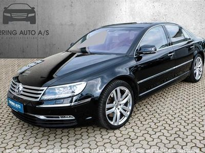 second-hand VW Phaeton 4,2 V8 4x4 334HK 6g Aut. - Personbil - sort