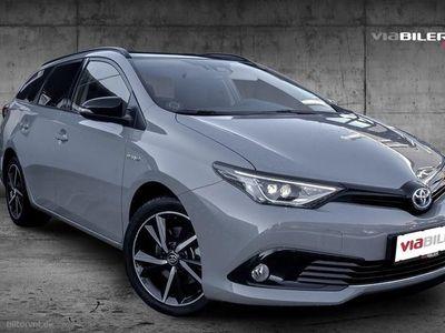 usata Toyota Auris Touring Sports 1,8 B/EL Selected Bitone 136HK Stc Aut.