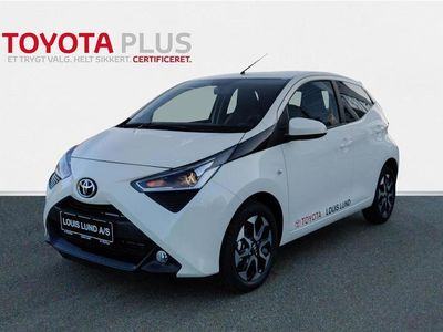 brugt Toyota Aygo 1,0 VVT-I X-Press X-Shift 72HK 5d Aut.