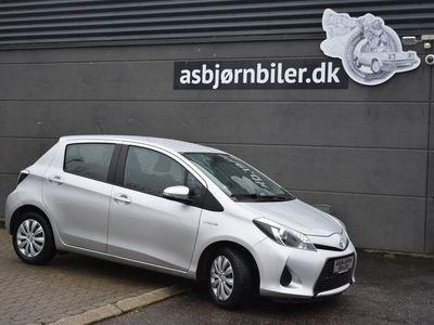 brugt Toyota Yaris Hybrid 1,5 Hybrid Premium Luksus CVT