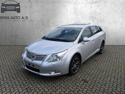 brugt Toyota Avensis 2,0 D-4D DPF TX 126HK Stc 6g - Personbil - grå