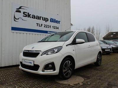 brugt Peugeot 108 1,0 e-VTi 69 White Edition