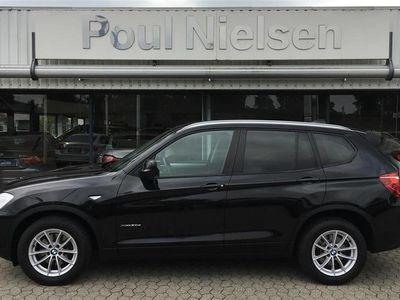 brugt BMW X3 2,0 xDrive20d aut 184HK 5d