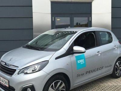 brugt Peugeot 108 e-Vti 1,0