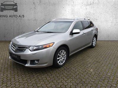 brugt Honda Accord 2,0 Elegance 155HK Stc 6g - Personbil - sølvmetal